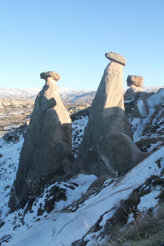 Tres bellezas de la Capadocia