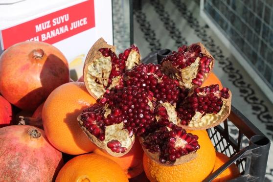 Granada muy común en Turquía al igual que la naranja