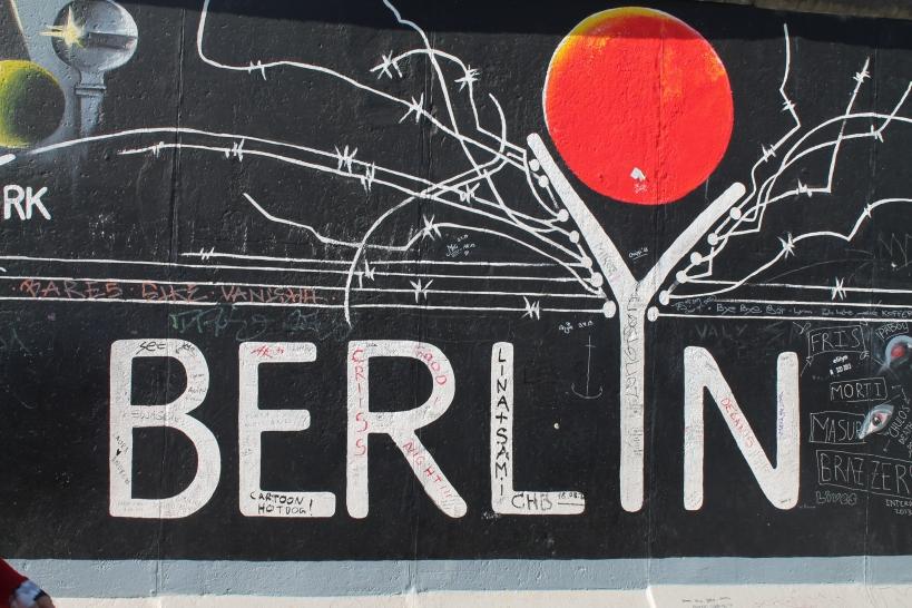 East Side Gallery- Berlín