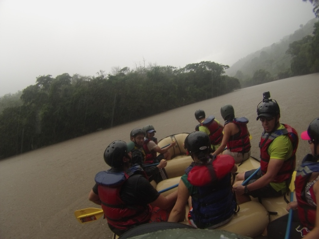 Fotografo de rafting