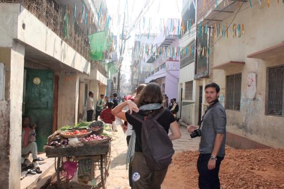 Calles Varanasi