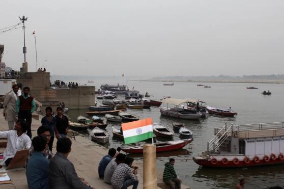 Ganges melu bandera