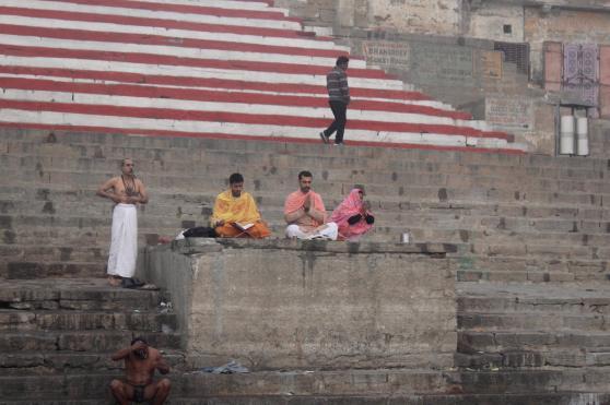 Monjes Ganges