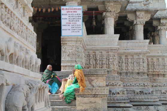 Templo Udaipur Viejitas